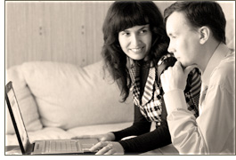 Volodymyr and Nadiya - Founders of Vladonai Software