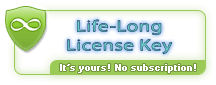 Life-Long License Key. The key is yours for lifetime, it will not expire. We don't sell subscriptions.